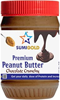 SUMIGOLD Crunchy Chocolate Spread Peanut Butter 350 gm
