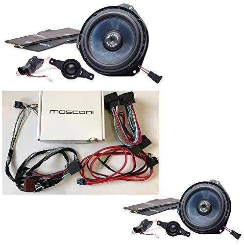 Gladen/Mosconi FIAT Ducato Set Lautsprecher und Endstufe