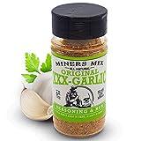 MINERS MIX XXX-Garlic Gourmet Seasoning. A Whole Lot More than Plain 'Ol Garlic Salt. Roasted,...