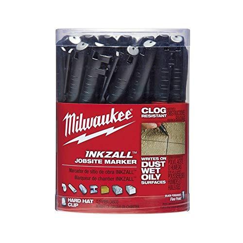 Industrial Marker, Black, Acrylic, PK36