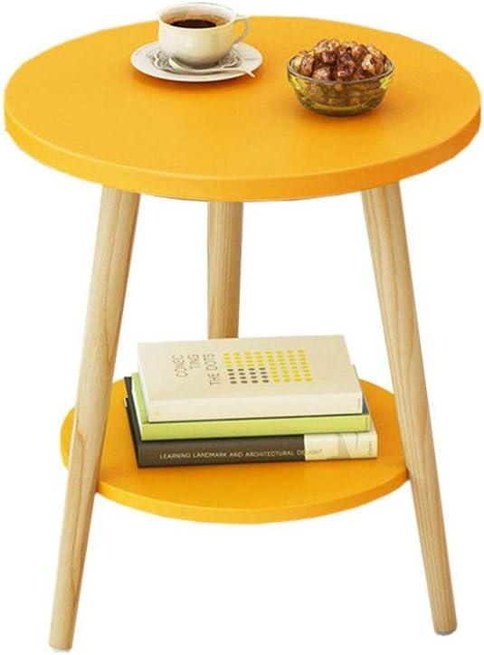 BEYTII Stylish Sacramento Mall Small Coffee Max 75% OFF Table Wood Sense Design Solid Cust