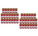 Beste Choice Grablicht Brenner Nr. 3 rot mit Deckel Grabkerzen Friedhofskerzen Grablichtkerze Trauerlicht Gedenkkerze Grabdekoration Grabdeko (40er Pack)