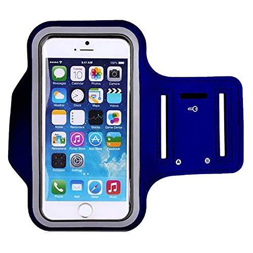 Brazalete Deportivo Running para Moviles Phone,Soporte de Brazalete Deportivo para Correr Bolsa de Brazo Portátil para Samsung Gym con Banda de Brazo