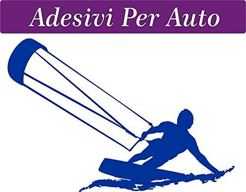1 Vinilo decorativo para coche-10 x 15 cm-kite-KITESUR-KITESURFING novedad!!-coches motos furgonetas de acampada-Accesorios de windsurf kite surf kitesurfer, stickers, decal