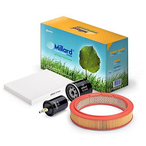 Millard Filters MZ-3838 - Kit de filtros para sa, Cordoba 2, Ibiza 3 o Polo 3