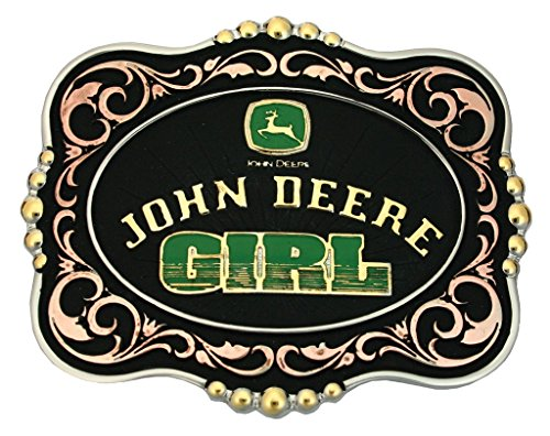 John Deere Girl Belt Buckle