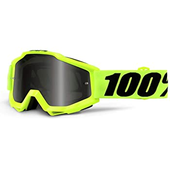Rojo Talla /Única 100/% ACCURI Youth Goggle Gafas de Sol Accesorios Deportivos Ni/ño Red Ni/ños
