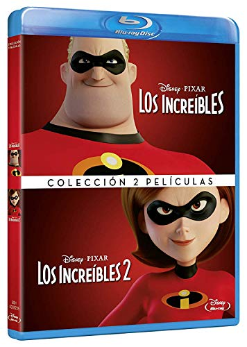 Pack Los Increibles 1+2 [Blu-ray]