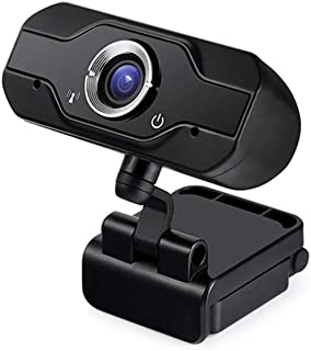 1080P HD كاميرا - مع ميكروفون مدمج كاميرا 360 درجة دوران الويب لتعليم الشبكة، المؤتمرات عن طريق الفيديو