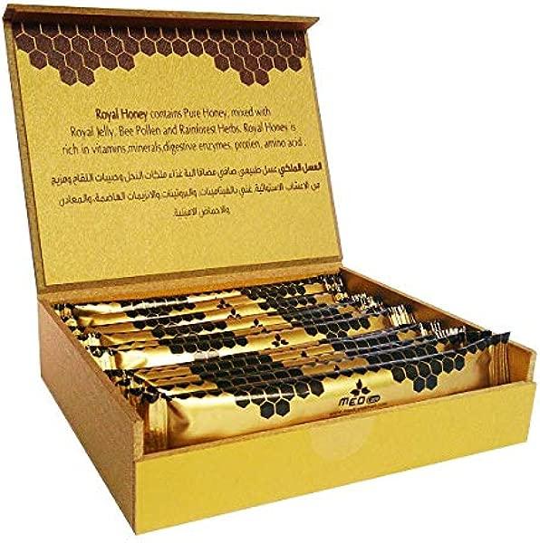 New 15ct Sachet Box Authentic Golden Royal Honey