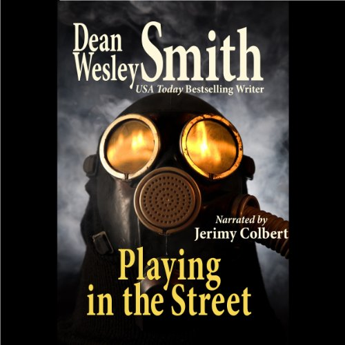 Playing in the Street audiobook cover art