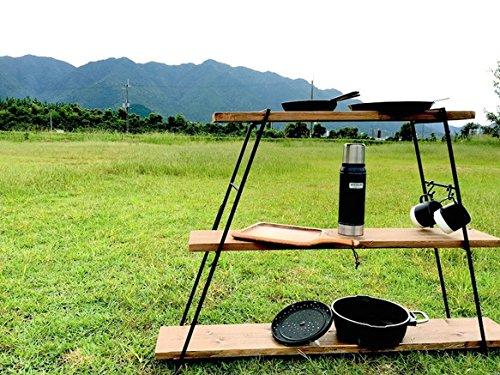 IRON REG LADDER IRL - 01 キャンプ アイアンレッグラダー/W STANDARDインダストリアル/店舗什器ディスプレ...