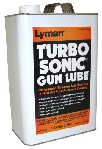 Lyman Products Ultrasonic Barrel/Gun Parts Lubricant, 1-Gallon