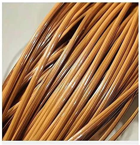 Gradiente Tejido Plano de ratán, reparación de ratán sintético 8 mm * 65 mMaterial de Punto Plástico de ratán para Muebles para el hogar de Bricolaje, Ratán de bambú Mesa de Silla, Cesta de Almacenami