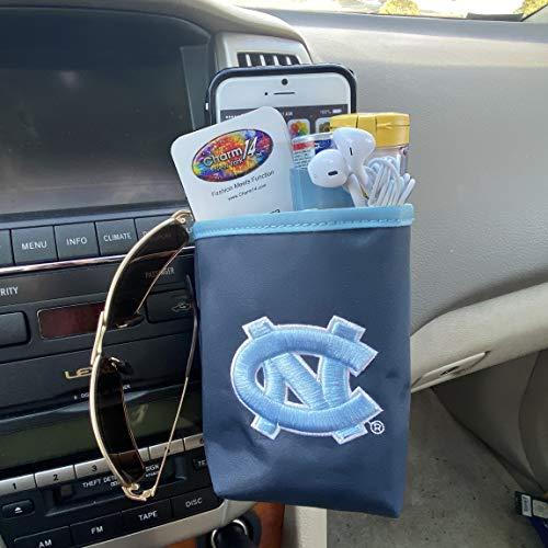 NCAA UNC Tarheels Car Vent Pocket Organizer-fits All Cars