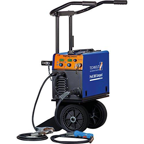 TECHNOLIT Profi 300 Compact MIG MAG Schweißanlage mit Fahrwagen Schweißgerät