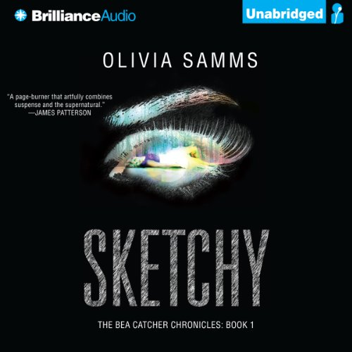 Sketchy audiobook cover art