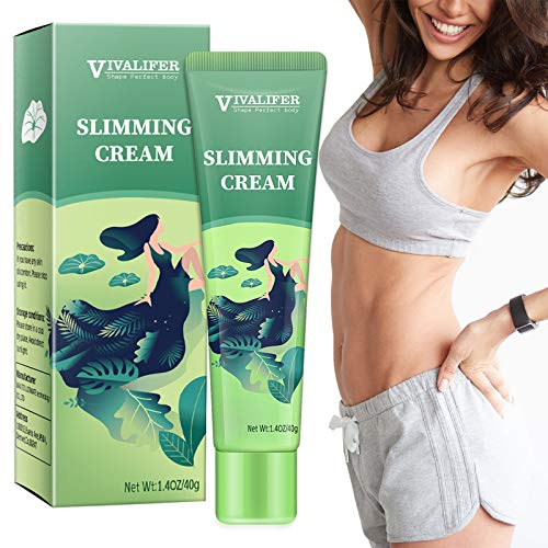 Hot Cream, Slimming Cream for Weight Loss, Body Fat Burning Cream for Reducing Belly, Legs, Arms, Thigh and Waist Fat, Anti Cellulite, Quick Slimming