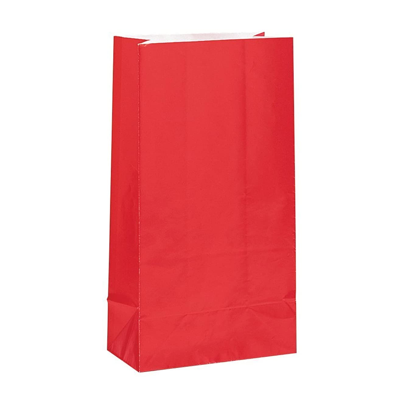 Red Paper Party Favor Bags, 12ct (3 pack)