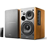 Edifier R1280DB Powered Bluetooth Bookshelf Speakers (Wood Grain)
