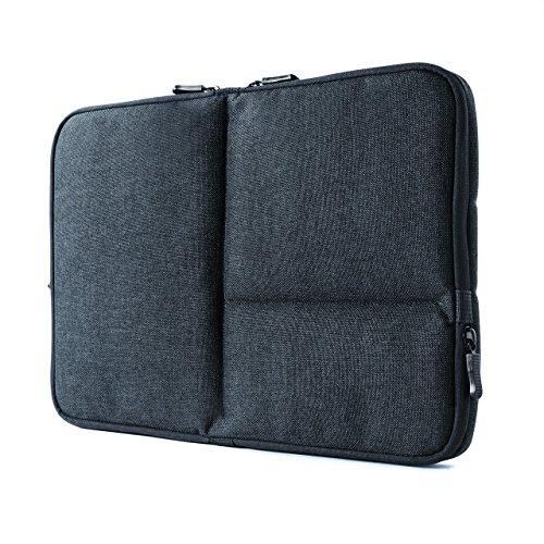 サンワダイレクト インナーケース PC 13.3インチ対応 タブレット収納 小物ポケット ネイビー 200-IN050NV
