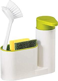 Organisateur de rinçage de cuisine - Organisateur de cuisine - Boîte de rangement 2 en 1 - Dans le détergent de nettoyage,...