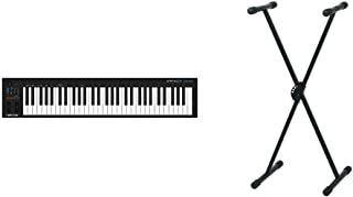 Nektar Impact GX61Controlador USB MIDI de teclado con integración de DAW + Pure GEWA F900520Soporte de teclado, patas perf...