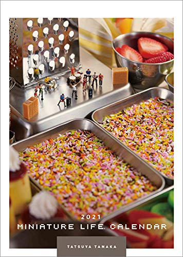 Miniature Life Calendar 2021 年 カレンダー 壁掛け CL-466 Japanese Edition