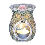 Bruciatori Da Tavolo Turchi Per, Lampada Aromatica Candela Bruciatore Di Olio Essenziale Bruciatori Di Cera Fondente Olio Per Fondente Bruciatore Di Fusione Oli Essenziali Profumati (Nessuna Candela)