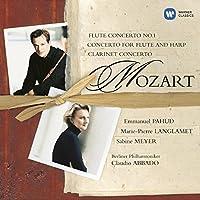 Mozart: Flute Concerto No. 1; Concerto for Flute and Harp; Clarinet Concerto (2001-06-05)