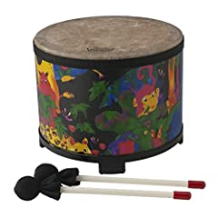 Brand: Remo Product Code: KD508001 7. 5x10 inch floor Tom Acoustic on shell Part of the Remo kid's percussion Collection
