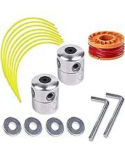 3 Stuks Trimmer Head Aluminium, Trimmerkop aluminium, Universele Kop voor Bosmaaiers, Aluminium Bosmaaierkop, voor Grastrimmer, Tuin, Gazon, Terras