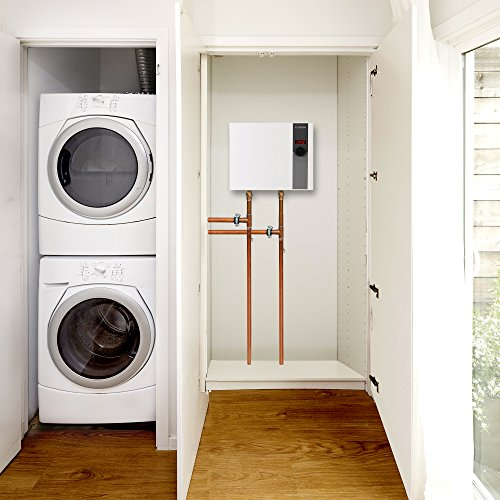Bosch Electric Tankless Water Heater - Eliminate Time for Hot Water - Easy Installation, 17.3 kW