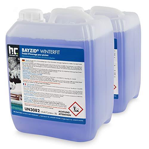 Höfer Chemie 2 x 5 L Pool Wintermittel - BAYZID Winterfit Überwinterungskonzentrat für Schwimmbad und Pool