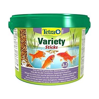 Tetra Pond Variety Sticks 10L Bucket food for all pond fish