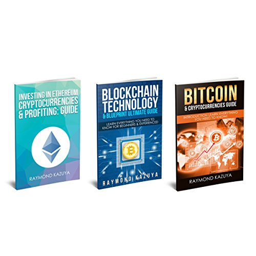 Bitcoin Cryptocurrency: 3 Manuscripts - Bitcoin, Blockchain Technology, Ethereum audiobook cover art