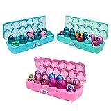 Hatchimals CollEGGtibles Schmuckkästchen 12 er Pack Eierkarton in Pink, Blau oder Türkis