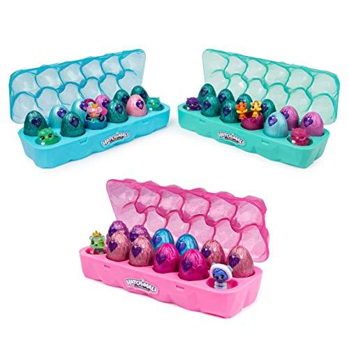 Hatchimals CollEGGgtibles 12 Pack Carton - Season 6 - Kits de figuras de juguete para niños, colores surtidos, 1 unidad