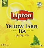 Lipton Yellow Label 100 Btl. 200g - Feinster Schwarzer Tee der Premiumklasse