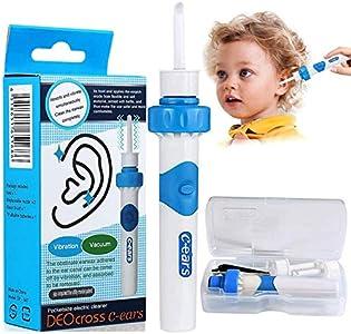 Limpieza Cerumen Oído, Eliminar Quitar cera oidos, Kit Limpiador para Oídos, Limpiador de Cera de Oídos, Limpiador De Oidos, Limpieza De OíDos, para bebés, jóvenes y adolescentes adultos