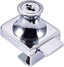 Cilinder-meubelslot, dat schroef blokkeert, gelijktijdig vergrendelingsslot, zinklegering, glazen vitrine kastglazen deurs...