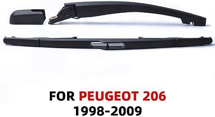 SLONGK Brazo Y Cuchilla De Limpiaparabrisas De Primera Calidad, para Peugeot 206 De 1998 A