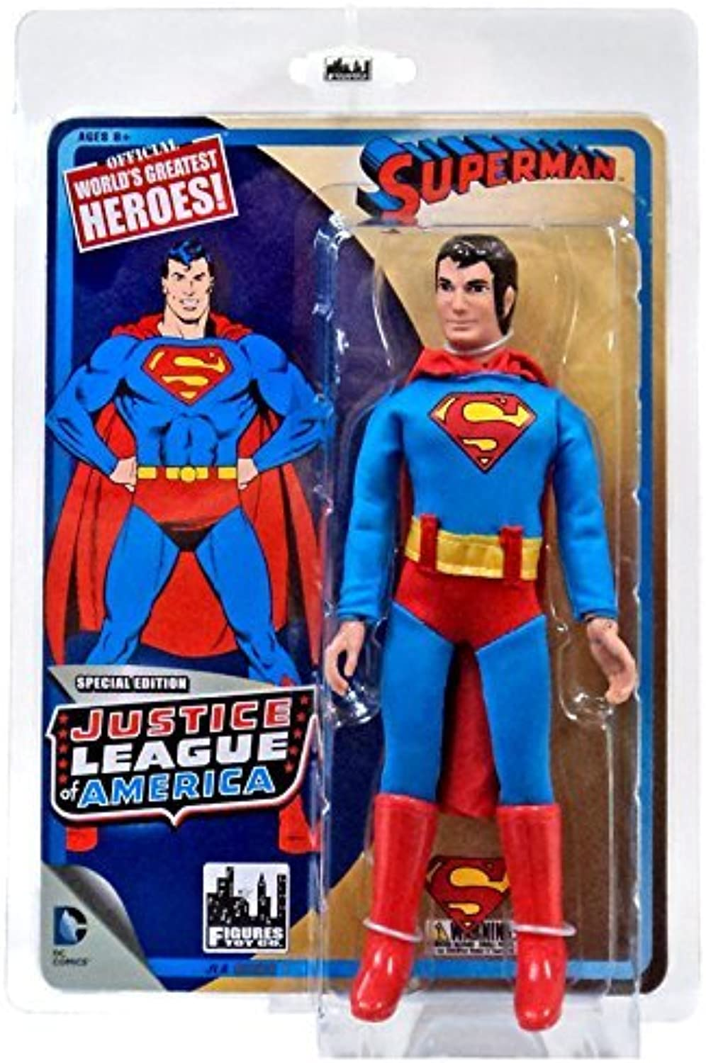 DC Justice League of America America America World's Greatest Heroes  Superman 8 Action Figure by Figures Toy Company B00ZG9OPCO | Ab dem neuesten Modell  99f29a