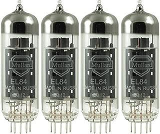 Mullard EL84, Matched Quad (4 tubes)