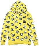 Got7 Doughnut Hoodie Mark Just Right Yellow Hoodie Jackson Youngjae JB Unisex Sweatershirt (Large, Yellow)