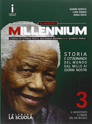 Il nuovo Millennium. Per le Scuole superiori. Con e-book. Con espansione online: 3
