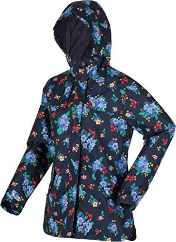 Regatta Womens Bertille Shell Jacket, Navy Floral, X-Large