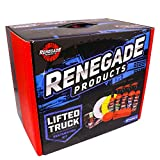 Renegade Products Lifted Truck & Forged Wheel Metal Polishing & Detailing Complete Kit Complete with Metal Polishing Products, Spray Wax, Rubber Vinyl & Plastic Dressing
