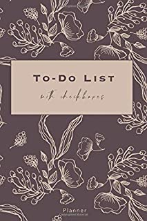 To-Do List with Checkboxes: Daily Agenda with Checkboxes | 140 pages with Checkboxes, Priority Tasks, Important Notes | To...