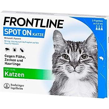 Frontline Spot On K Vétérinaire Solution Lot de 3